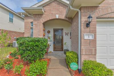 Manvel Single Family Home For Sale: 3 Carmel Chase Court