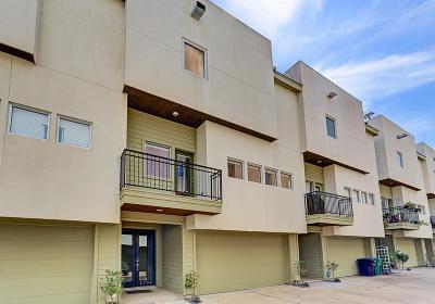 Galveston County, Harris County Condo/Townhouse For Sale: 4702 Austin Street