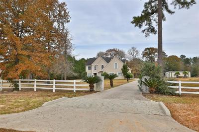 Montgomery Single Family Home For Sale: 15632 Connie Lane