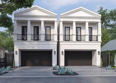 Houston Single Family Home For Sale: 1024 Adele