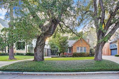 Houston Single Family Home For Sale: 6542 Sewanee Avenue