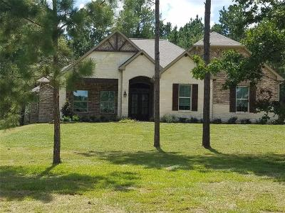 Montgomery Single Family Home For Sale: 227 Lakeside Hills