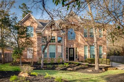 The Woodlands TX Single Family Home For Sale: $529,000
