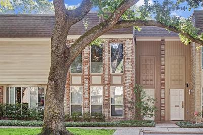 Houston Condo/Townhouse For Sale: 8928 Chatsworth Drive #8928