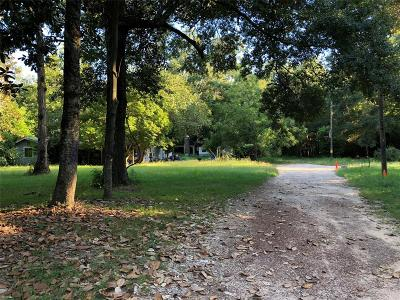 Conroe Residential Lots & Land For Sale: 16840 Fm 1485 Road