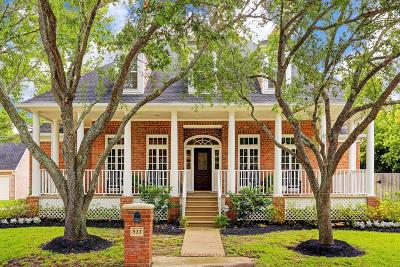Houston Single Family Home For Sale: 523 Woodbend Lane