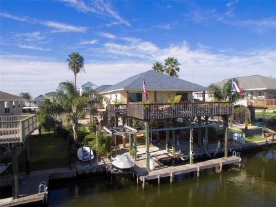 Galveston Single Family Home For Sale: 23003 Lunes