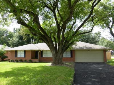 Houston Single Family Home For Sale: 3227 Peppermill Road