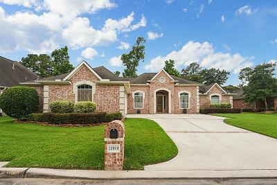Houston Single Family Home For Sale: 13919 Barrington Fairway