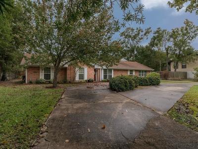 Seabrook Single Family Home For Sale: 4469 Shady Lake Drive