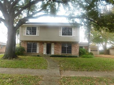 Houston TX Single Family Home For Sale: $171,000