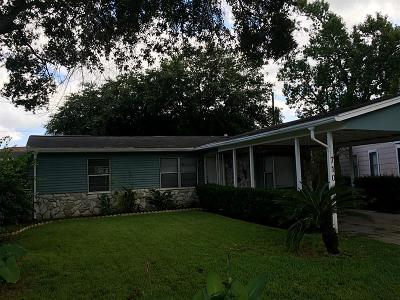Channelview Single Family Home For Sale: 710 Banton Street