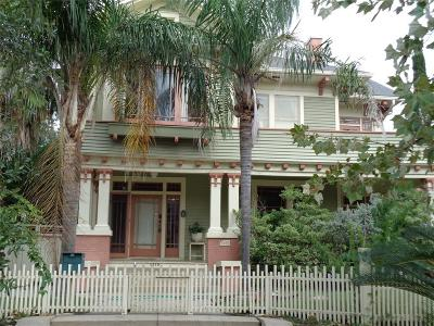 Galveston TX Single Family Home For Sale: $489,000