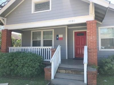 Houston Single Family Home For Sale: 4810 Oakland Street