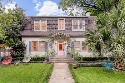 Houston Single Family Home For Sale: 1318 Marshall Street