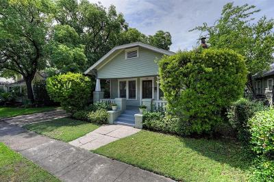Houston Single Family Home For Sale: 1136 Key Street