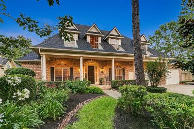 The Woodlands Single Family Home For Sale: 10 Gilded Pond Place