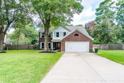 Kingwood Single Family Home For Sale: 2635 Hidden Garden Drive