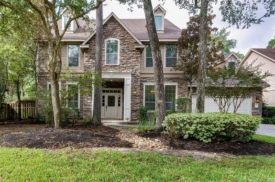 The Woodlands Single Family Home For Sale: 89 E Beckonvale Circle