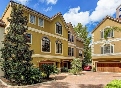 Houston Condo/Townhouse For Sale: 6008 Glencove Street #E