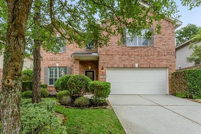 The Woodlands Single Family Home For Sale: 23 Spinning Wheel
