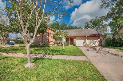 Seabrook Single Family Home For Sale: 1222 W Flamingo Drive