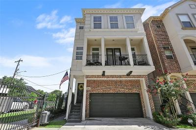 Houston Single Family Home For Sale: 2116 Couch Street