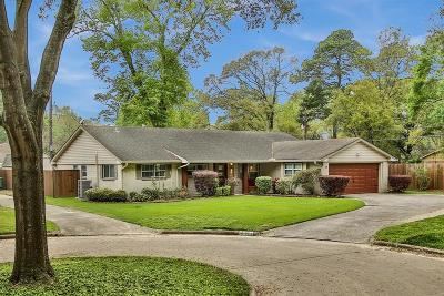 Houston Single Family Home For Sale: 5019 Shady Nook Court