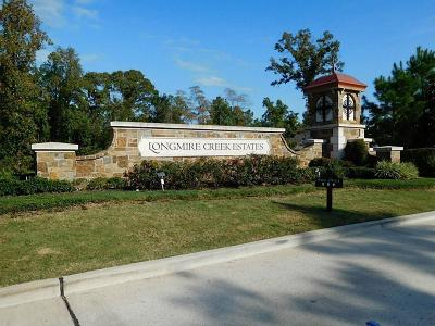 Conroe Residential Lots & Land For Sale: 9600 Longmire Creek Way