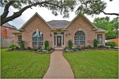 Friendswood Single Family Home For Sale: 107 Eagle Lakes Drive