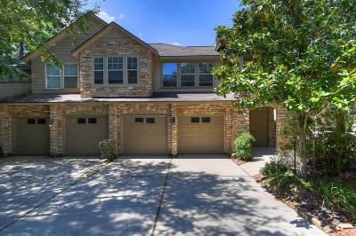 The Woodlands Condo/Townhouse For Sale: 50 Stone Creek Place