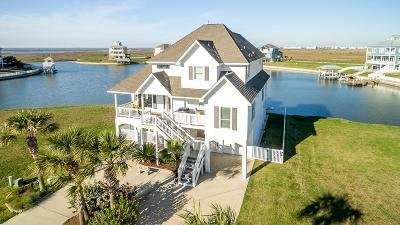 Galveston Single Family Home For Sale: 4111 Bluewing Teal Court
