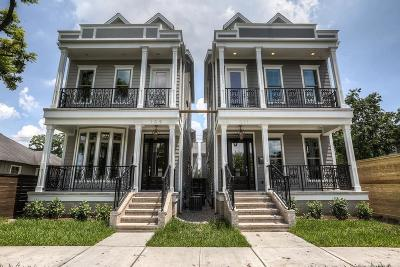 Houston Single Family Home For Sale: 109 E 26th Street