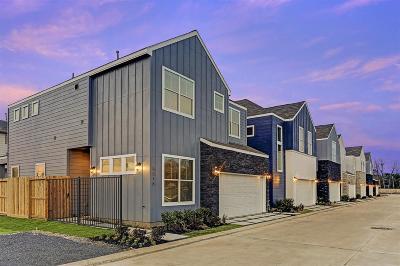 Houston TX Single Family Home For Sale: $346,900