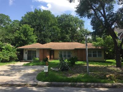 Bellaire Single Family Home For Sale: 4620 Evergreen Street