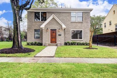 Houston Single Family Home For Sale: 2813 Truxillo Street