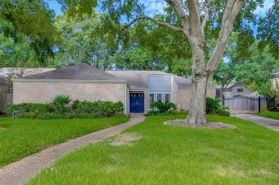 Briargrove Park Single Family Home For Sale: 10206 Burgoyne Road