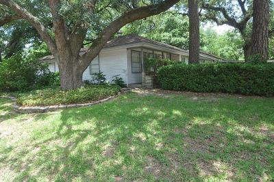 Houston Single Family Home For Sale: 1354 Chantilly Lane