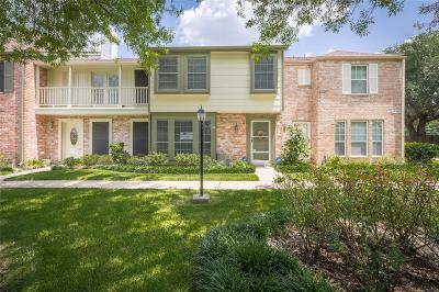 Houston Condo/Townhouse For Sale: 5801 Lumberdale Road #135