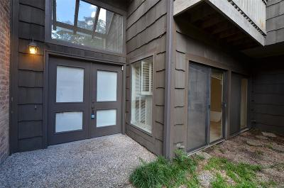 Houston Condo/Townhouse For Sale: 204 Sugarberry Circle
