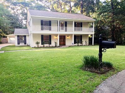 Conroe Single Family Home For Sale: 552 Shenandoah Park