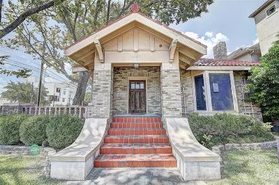 Houston Single Family Home For Sale: 1420 Alabama Street