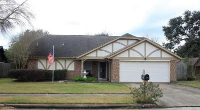 Pearland Single Family Home For Sale: 1810 Cripple Creek Lane