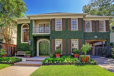 Houston Single Family Home For Sale: 2409 Dickey Place