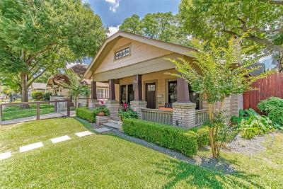 Houston Single Family Home For Sale: 1213 Willard Street