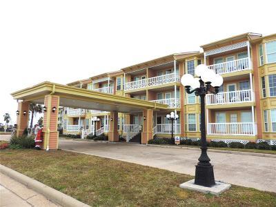 Galveston Condo/Townhouse For Sale: 6300 Seawall Boulevard #3124