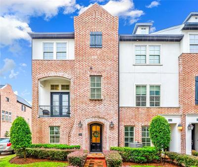 Houston Condo/Townhouse For Sale: 2049 Fannin Station N