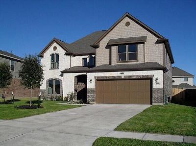Manvel Single Family Home For Sale: 3415 Braddock Lane
