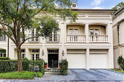 Houston Single Family Home For Sale: 8 Eaton Square
