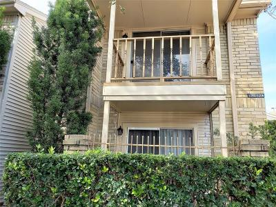 Houston TX Condo/Townhouse For Sale: $89,000
